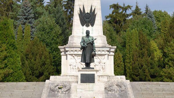Pomnik Radzieckiej Armii w Świdniku na Słowacji - Sputnik Polska