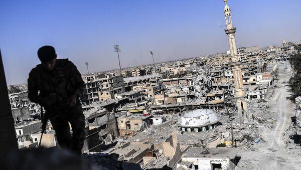 Wyzwolenie syryjskiej Rakki - Sputnik Polska