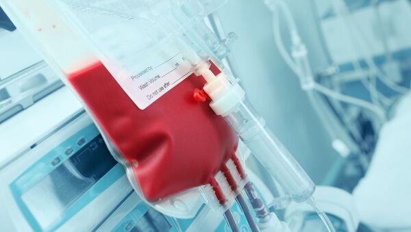 Krew do transfuzji - Sputnik Polska