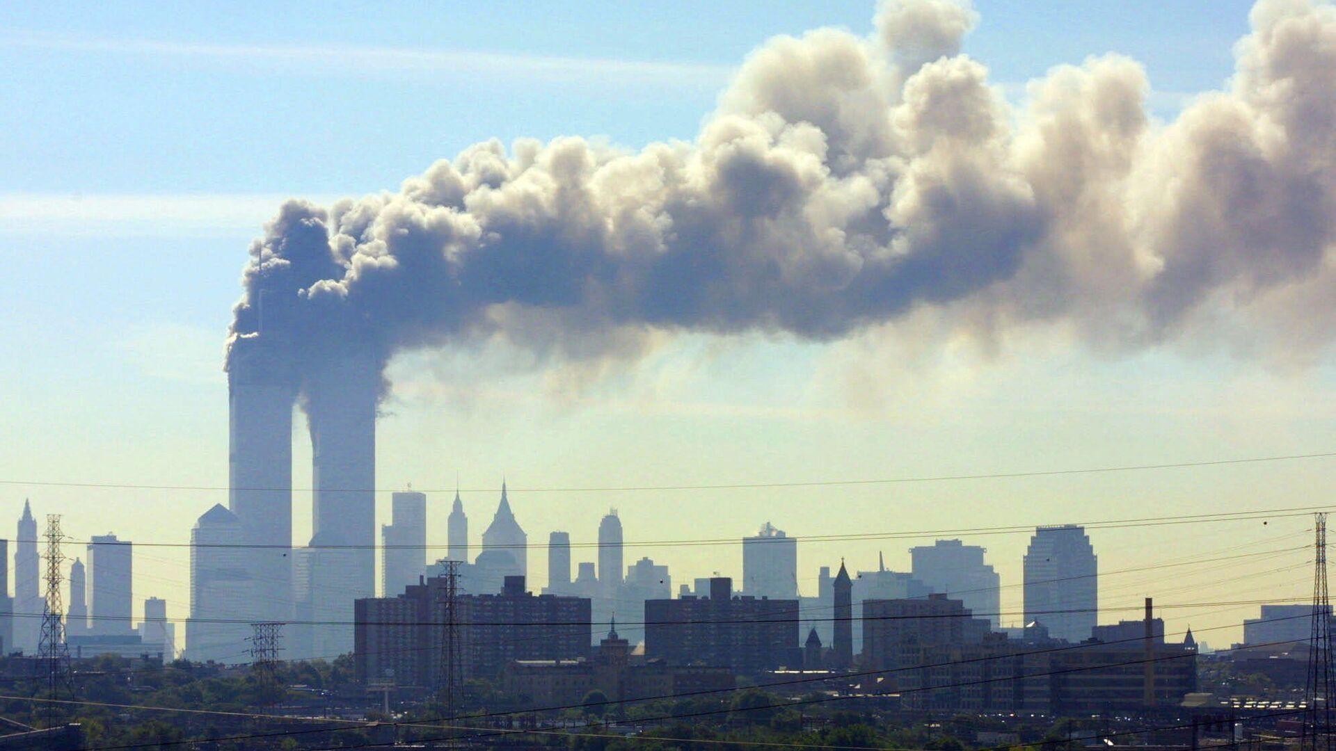 Zniszczenia w wyniku zamachu terrorystycznego 11 września w Nowym Jorku - Sputnik Polska, 1920, 11.09.2021