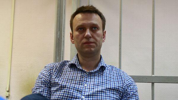 Rosyjski opozycjonista Aleksiej Nawalny - Sputnik Polska