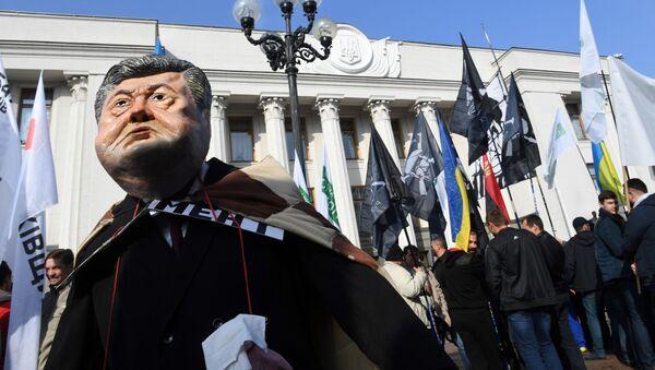 Protestujący zareagowali śmiechem i oklaskami - Sputnik Polska