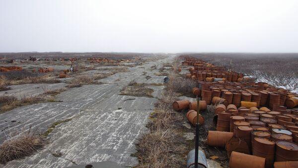 Porzucone lotnisko na wyspie Matua - Sputnik Polska