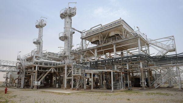 Zakład przetwarzania gazu w Furlus w Syrii - Sputnik Polska