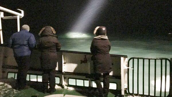 Ratownicy znaleźli koło Spitsbergenu wrak zaginionego Mi-8 - Sputnik Polska