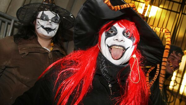 Obchody Halloween w Moskwie - Sputnik Polska
