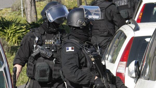 Jednostka specjalna francuskiej policji - Sputnik Polska