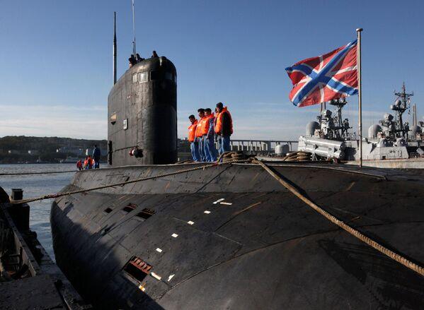 """Wielozadaniowy okręt podwodny o napędzie dieslowym projektu 636 """"Warszawianka"""" (w kodzie NATO """"Improved Kilo"""") - Sputnik Polska"""