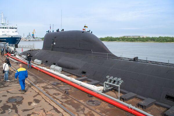 """Okręt podwodny projektu 885 """"Jasień - Sputnik Polska"""