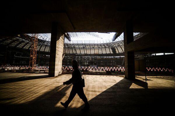 Moskiewski stadion Łużniki - Sputnik Polska
