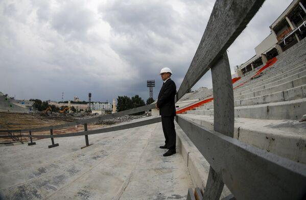 Budowanie stadionu w Jekaterynburgu - Sputnik Polska