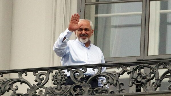 Minister spraw zagranicznych Iranu Dżawad Zarif - Sputnik Polska