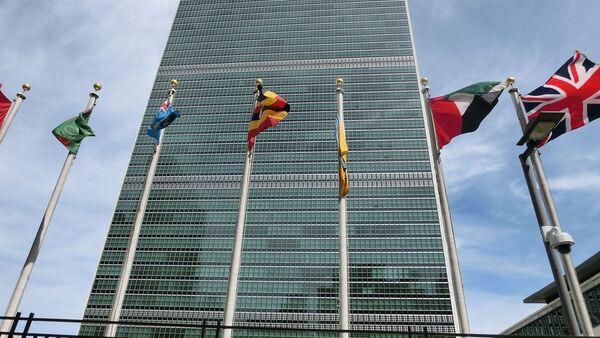 Budynek ONZ w Nowym Jorku - Sputnik Polska
