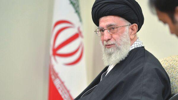 Najwyższy Przywódca Iranu ajatollah Ali Chamenei - Sputnik Polska