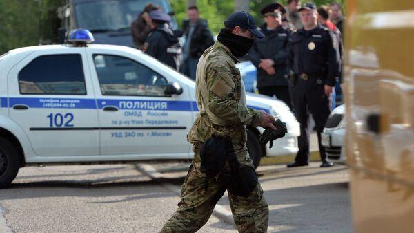 Funkcjonariusz FSB w Moskwie - Sputnik Polska