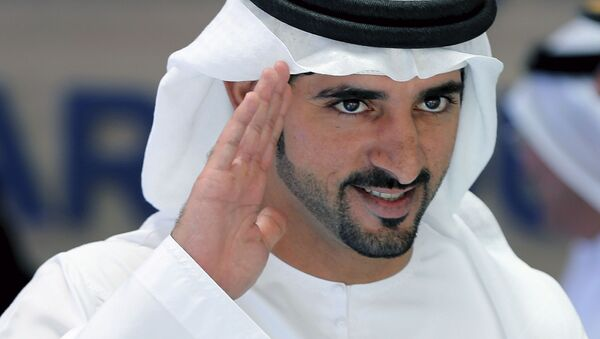 Szejk Hamdan bin Mohammed bin Rashid Al Maktoum - Sputnik Polska