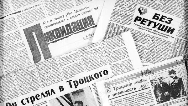 Artykuły prasowe o Lwie Trockim - Sputnik Polska