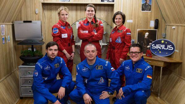 Członkowie załogi SIRIUS-17 - Sputnik Polska