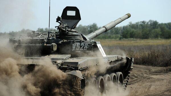 Ćwiczenia jednostek czołgowych w obwodzie rostowskim - Sputnik Polska
