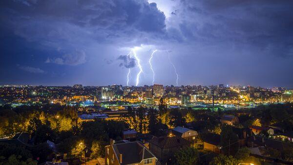 Burza w Rostowie nad Donem - Sputnik Polska