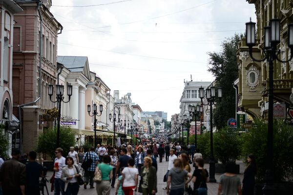 Centralna ulica miasta - Sputnik Polska