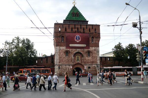 Baszta Kremla niżnonowogrodzkiego (budowa 1500–1511) - Sputnik Polska
