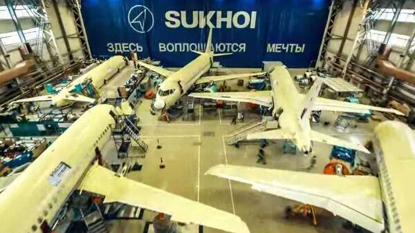 Sukhoi Superjet 100 - Sputnik Polska