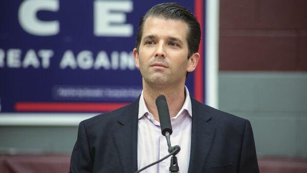 Syn prezydenta USA Donalda Trumpa Donald Trump Jr. - Sputnik Polska