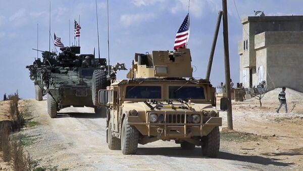 Armia USA w Syrii - Sputnik Polska