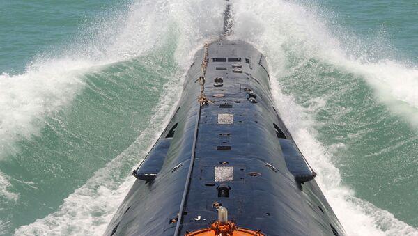 Okręt podwodny chińskiej marynarki wojennej - Sputnik Polska