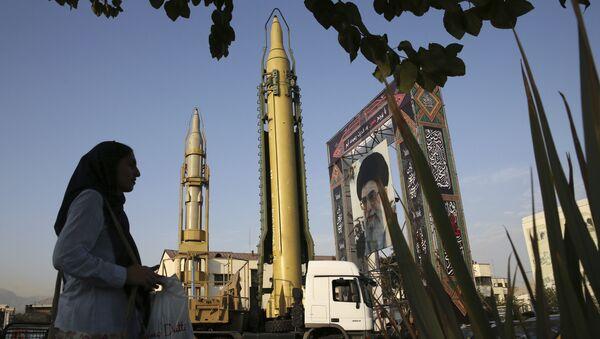 Irańskie rakiety - Sputnik Polska