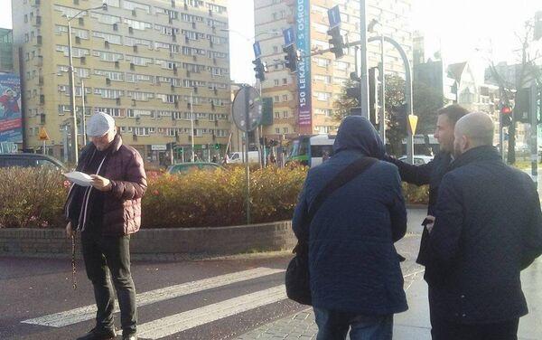 Akcja na ulicach Szczecina - Sputnik Polska