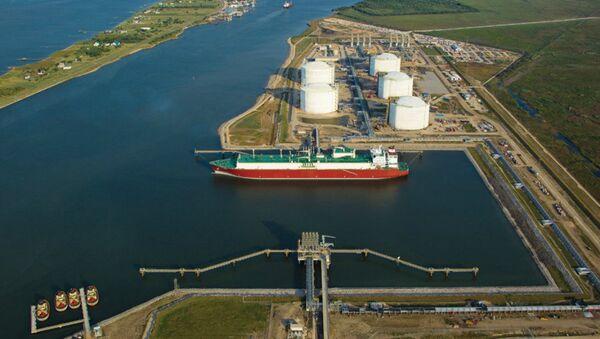 Terminal LNG  w Sabine Pass, Teksas - Sputnik Polska