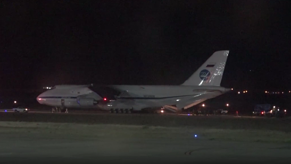 Rosyjski samolot ze sprzętem do poszukiwań okrętu podwodnego San Juan - Sputnik Polska