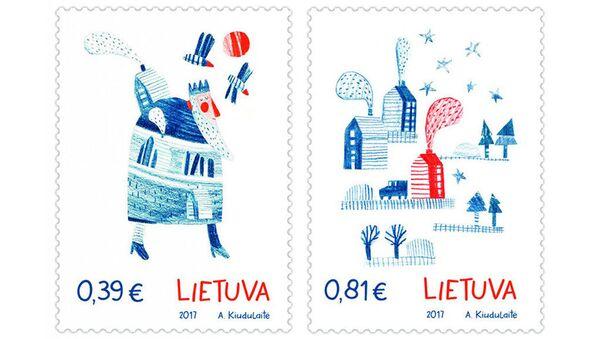 Znaczki pocztowe pachnące imbirem - Sputnik Polska