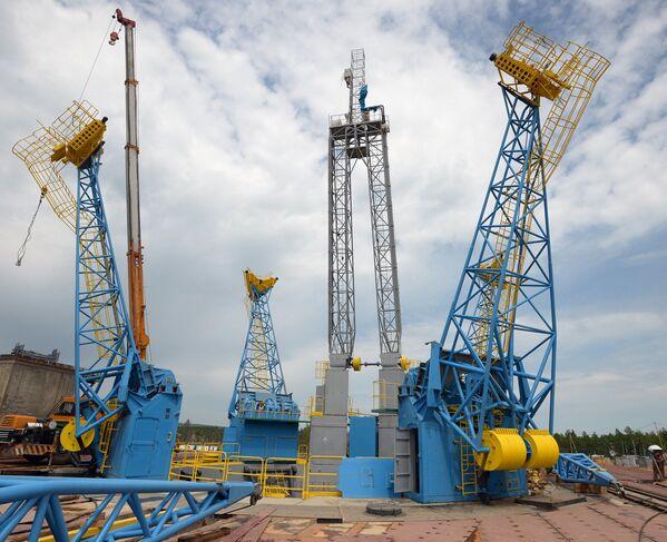 Stół startowy kosmodromu Wostocznyj - Sputnik Polska
