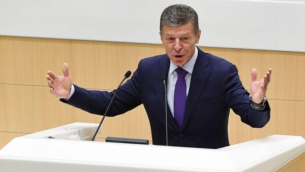 Zastępca przewodniczącego rządu Federacji Rosyjskiej Dmitrij Kozak - Sputnik Polska