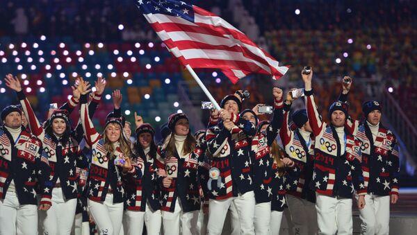 Reprezentacja USA na Olimpiadzie w Soczi - Sputnik Polska