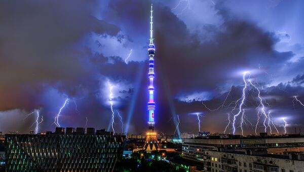 Burza nad Moskwą - Sputnik Polska