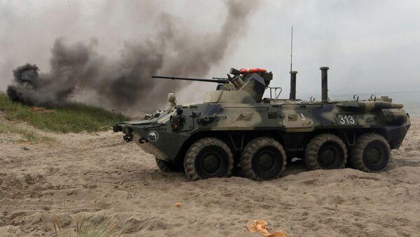 BTR-82A to głęboko zmodernizowana i zmieniona wersja BTR-80 - Sputnik Polska