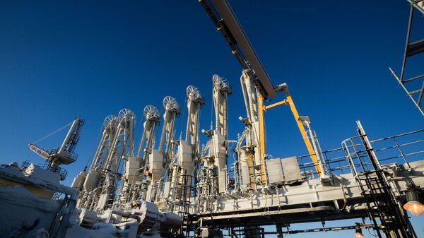 Budowa zakładu produkującego gaz skroplonu Jamał LNG - Sputnik Polska