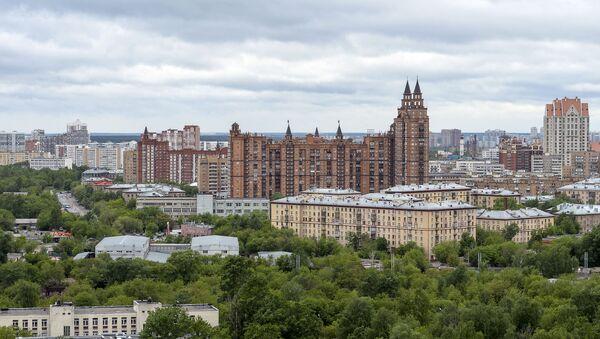Domy mieszkalne w Moskwie - Sputnik Polska
