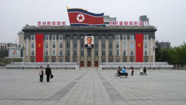 Plac Kim Ir Sena w Pjongjangu - Sputnik Polska