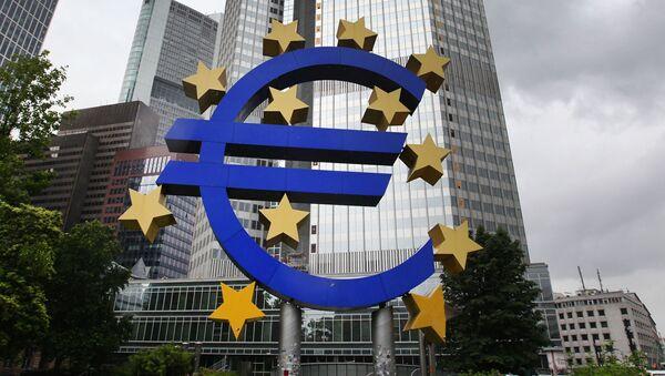 Biuro Europejskiego Banku Centralnego we Frankfurcie nad Menem w Niemczech - Sputnik Polska