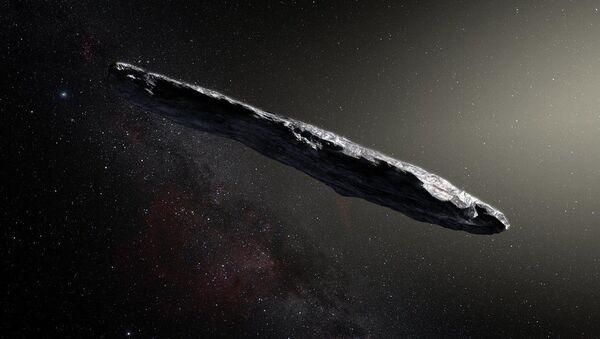Tak artysta przedstawił asteroidę Oumuamua - Sputnik Polska