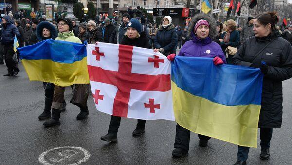 Protest w Kijowie - Sputnik Polska
