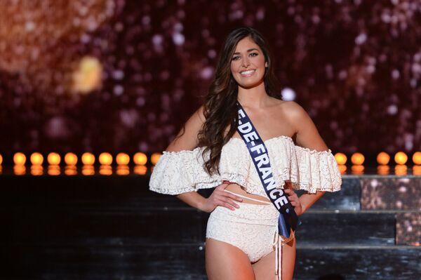 Uczestniczka konkursu pięknośći Miss Francji 2018, Lison Di Martino - Sputnik Polska