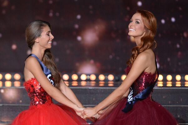 Uczestniczki konkursu piękności Miss Francji 2018 - Sputnik Polska