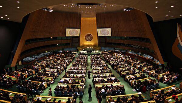 Zgromadzenie Ogólne ONZ - Sputnik Polska