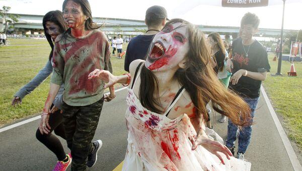 Zombie Run na Tajwanie - Sputnik Polska